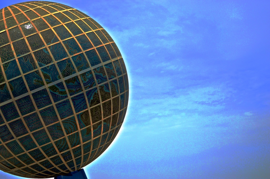 Globe Roundabout - Jeddah, Saudi Arabia